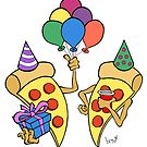 Pizza Party by Brett Gilbert