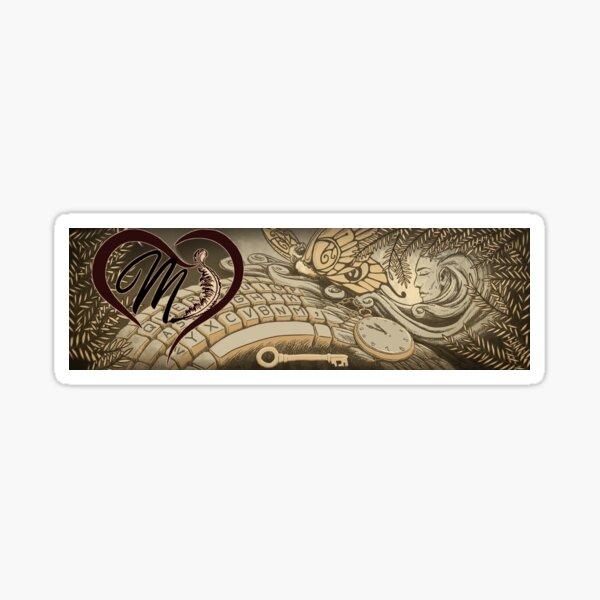 Manati Herz Banner von Caracan Draco Sticker