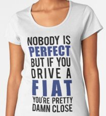 Fiat Owners  Women's Premium T-Shirt