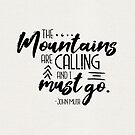 The Mountains Are Calling by megdig