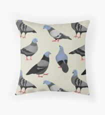 Design 33 - The Pigeons Throw Pillow