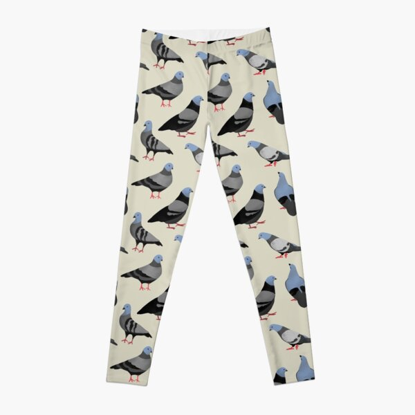 Design 33 - The Pigeons Leggings