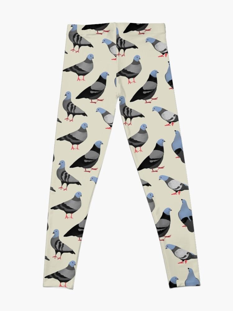 Alternate view of Design 33 - The Pigeons Leggings