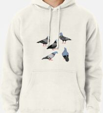 Design 33 - The Pigeons Pullover Hoodie