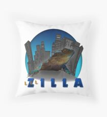 LIL ZILLA Throw Pillow