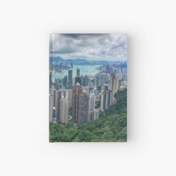 Hong Kong from the Peak Hardcover Journal