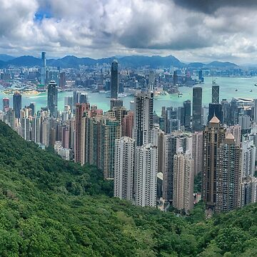 Hong Kong from the Peak by markhiggins