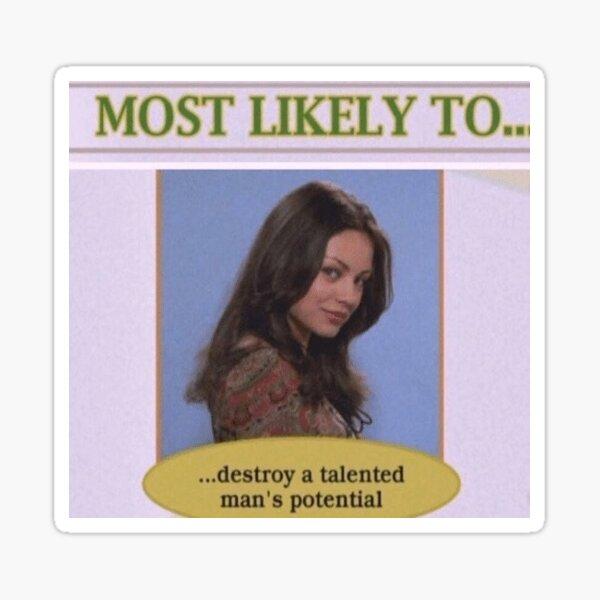 another Jackie sticker Sticker