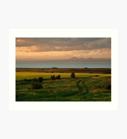 Corio Bay Sunset,Bellarine Peninsula Art Print