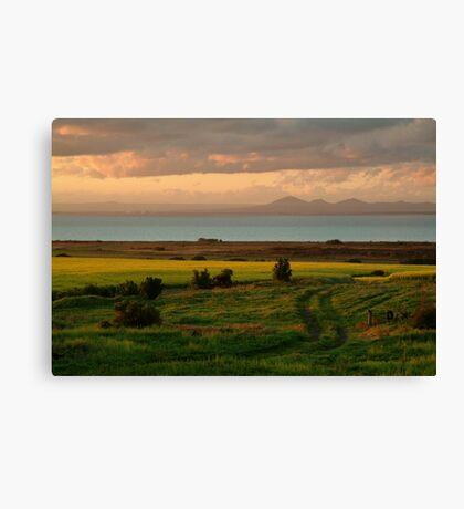 Corio Bay Sunset,Bellarine Peninsula Canvas Print
