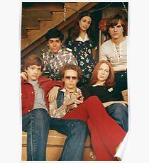 Póster el elenco de los 70