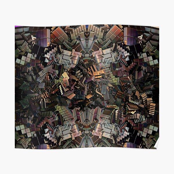 Escher's Modern Nightmare Poster