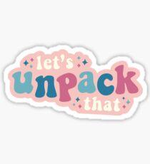 Let's Unpack That - Queer Eye Sticker