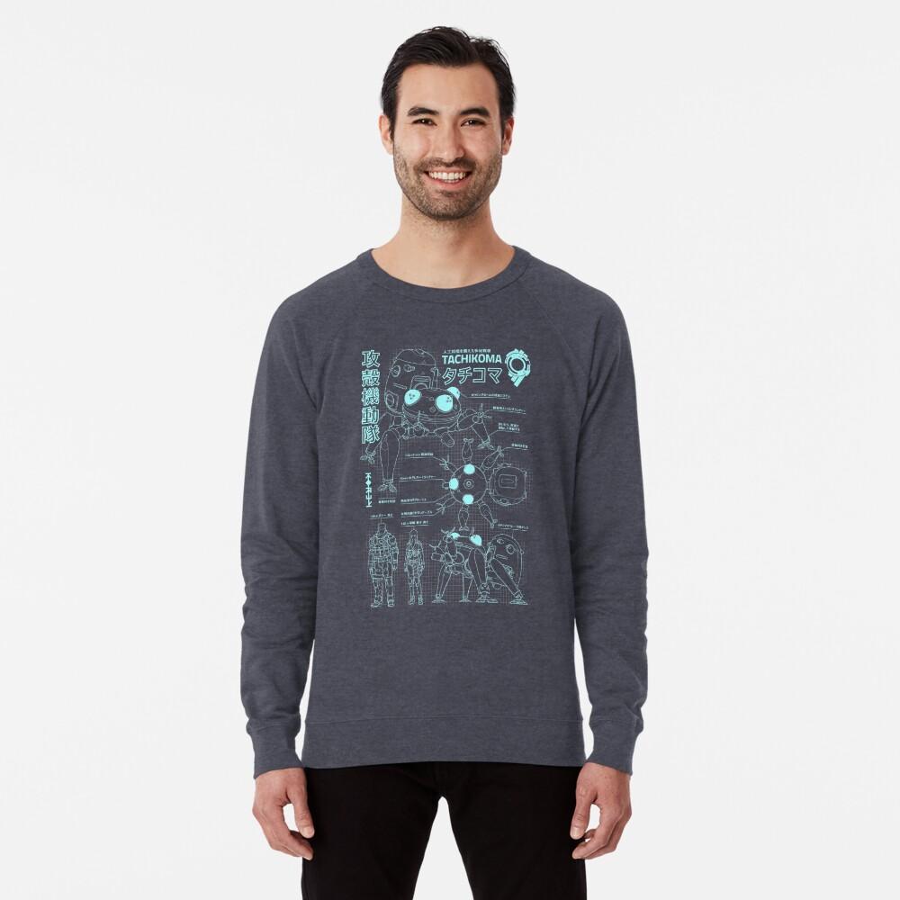 Tachikoma Blaupause (Herren) Leichter Pullover