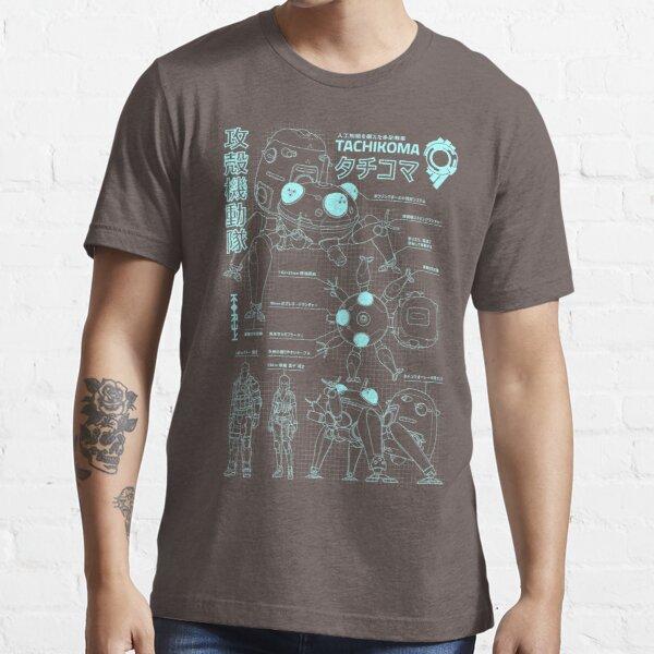Plan de Tachikoma (garçon) T-shirt essentiel
