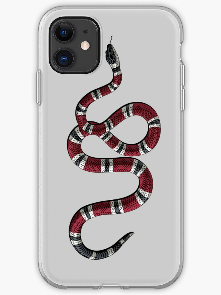 \u0027Gucci Snake\u0027 iPhone Case by MadisonRose014
