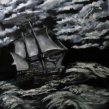 rough seas by LoreLeft27