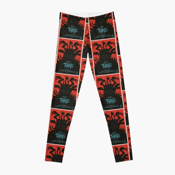 The Thing Leggings Redbubble