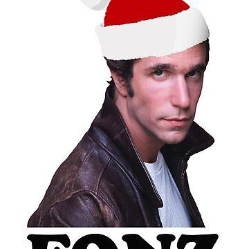 Christmas Fonz by red-rawlo