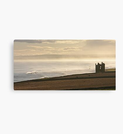 Keiss Castle, Caithness Canvas Print