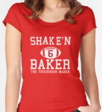 Baker Mayfield Special Women s Fitted Scoop T-Shirt 8ee76c3cd