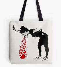 Lovesick - Banksy, Streetart Street Art, Grafitti, Artwork, Design For Men, Women, Kids Tote Bag