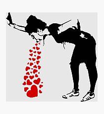 Lovesick - Banksy, Streetart Street Art, Grafitti, Artwork, Design For Men, Women, Kids Photographic Print