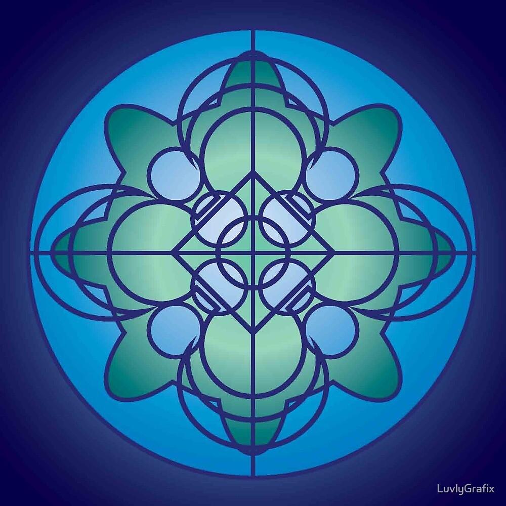 Earth Mandala by LuvlyGrafix