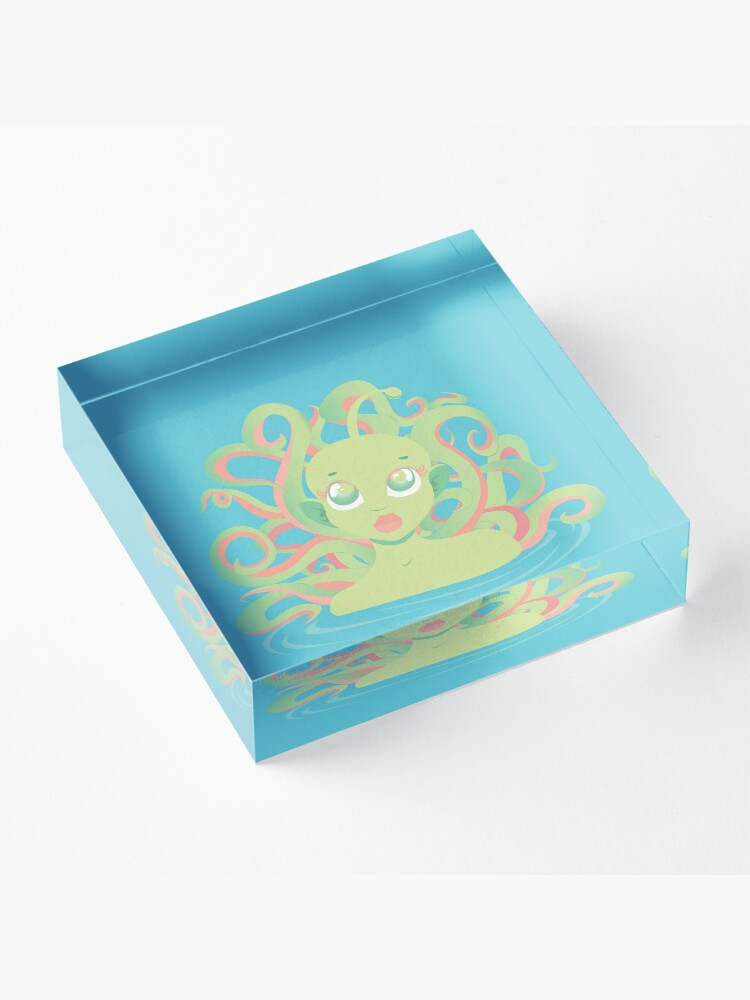 Alternate view of Tentacle Grl Acrylic Block