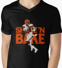 Shake'n Baker Mayfield Men's V-Neck T-Shirt