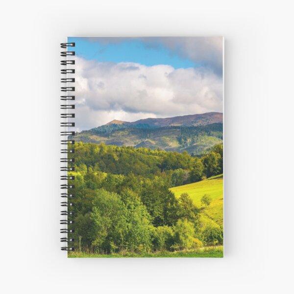 gorgeous panorama of mountainous landscap Spiral Notebook