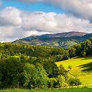 gorgeous panorama of mountainous landscap by mike-pellinni