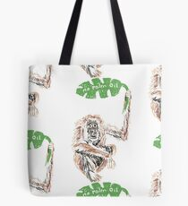 Is there Palm Oil in your basket? Rainforest, earth, design Tote Bag