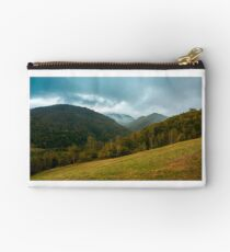 forest on the grassy hillside Studio Pouch