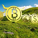 Currency coin race to the top by mike-pellinni