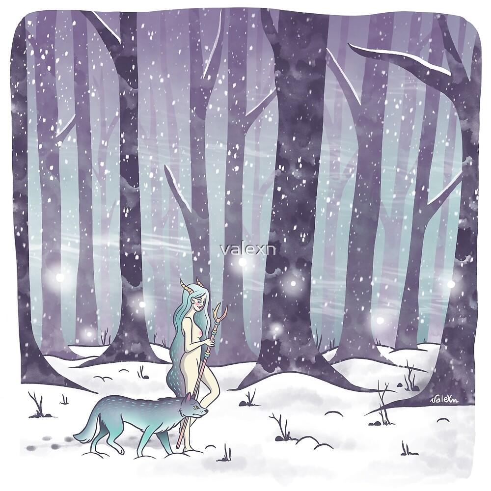«En el bosque» de valexn