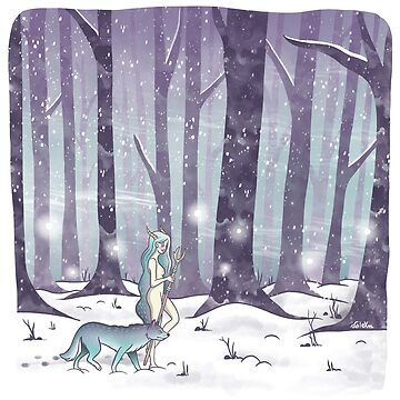 Into the woods by valexn