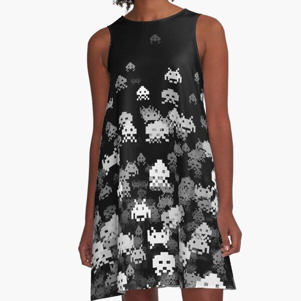Invaded BLACK A-Line Dress