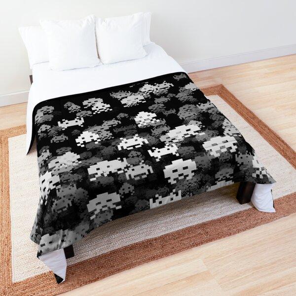 Invaded BLACK Comforter
