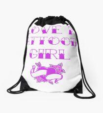 Love A Tattooed Girl Drawstring Bag