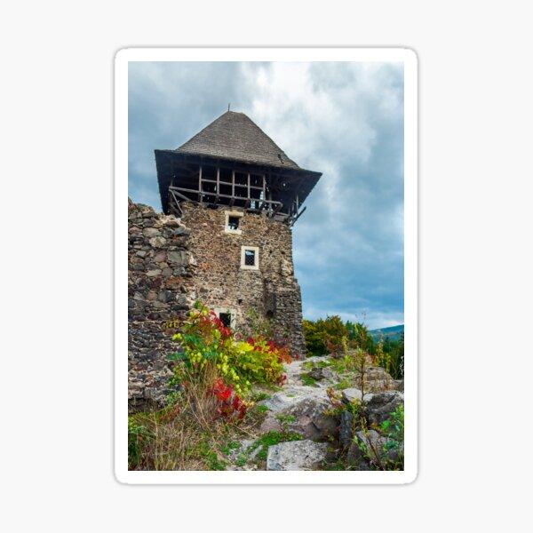 main tower of Nevytsky castle Sticker