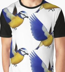 Vogel Grafik T-Shirt