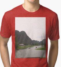 a stunning Vietnam landscape Tri-blend T-Shirt