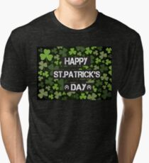 Happy St.Patrick's Day Tri-blend T-Shirt