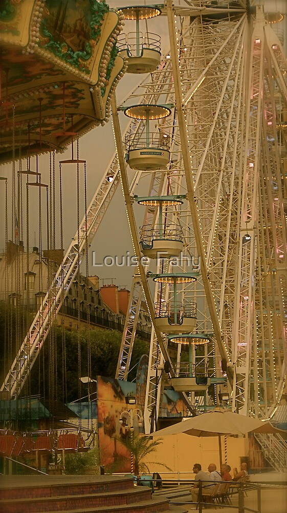 The End of the Day at the Fair by Louise Fahy