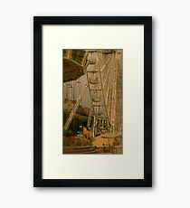 The End of the Day at the Fair Framed Print