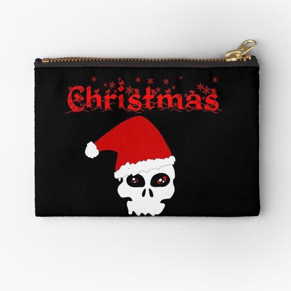 Christmas Skull Täschchen