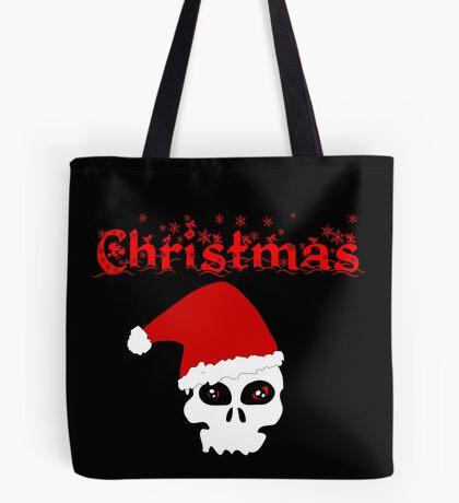 Christmas Skull Tasche