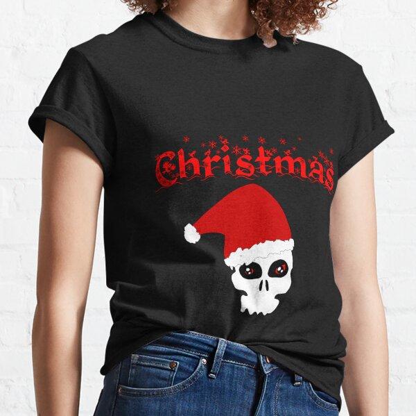 Christmas Skull Classic T-Shirt