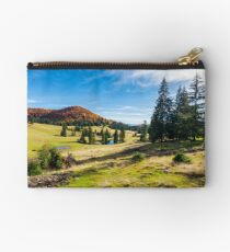 beautiful autumnal landscape in mountains Studio Pouch
